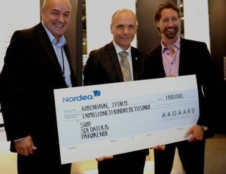 Endnu en million fra smykkefirmaet Aagaard til SSOP