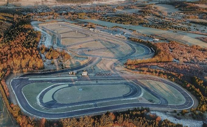 Jackie Phillip & Co. Raceteam deltog I Law Firm Racing på Padborg Park