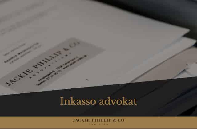 Inkasso advokat Jackie Phillip & Co. - bedre end et inkassofirma