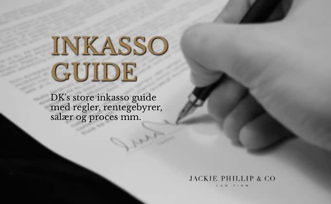Danmarks store inkasso guide med regler og gebyrer mm.