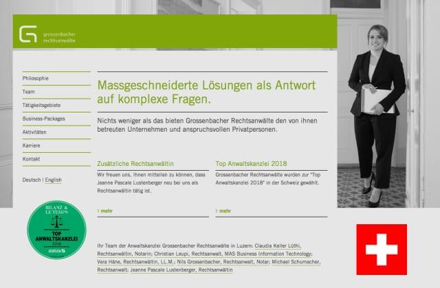 Schweizisk advokat firma - Gr-law.ch