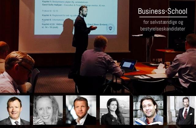 Business School for Selvstændige og bestyrelseskandidater