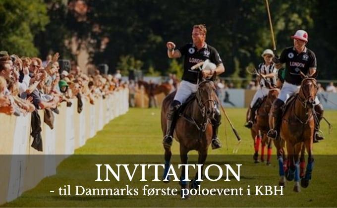 Danmarks første poloevent i KBH- Invitation fra Jackie Phillip & Co. Advokatfirma