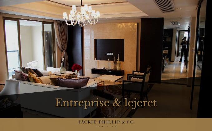 Entrepriseret og lejeret - få hjælp fra advokat Jackie Phillip