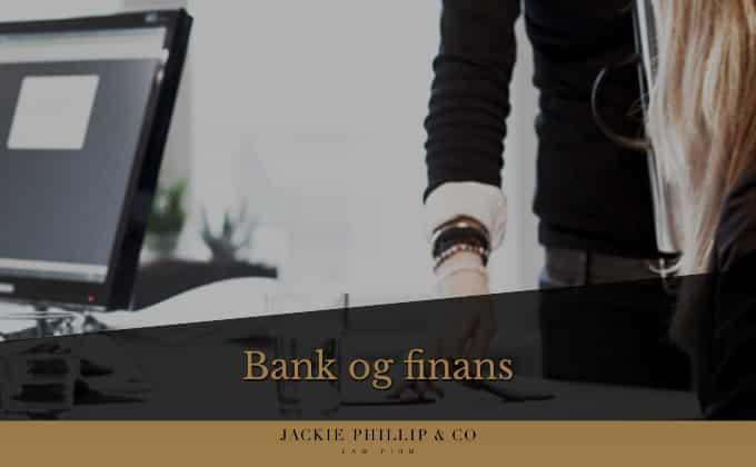 Finansieringsret - Få rådgivning indenfor bank og finans verdenen