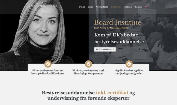 Board Institute er en målrettet bestyrelsesuddannelse i København